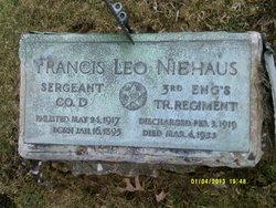 SGT Francis Leo Niehaus