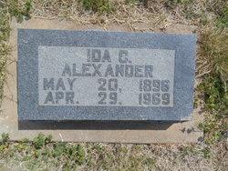 Ida <I>Callaham</I> Alexander