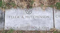 Tella A. <I>Hinshaw</I> Hutchinson