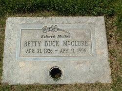 Betty J <I>Buck</I> McClure