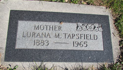 Lurana Maude <I>Rogers</I> Tapsfield
