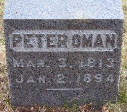 Peter Oman, Jr
