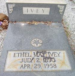 Ethel <I>May</I> Ivey