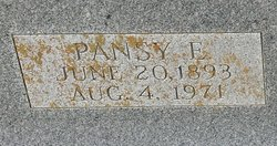 Pansy Evelyn <I>Snavely</I> Patton
