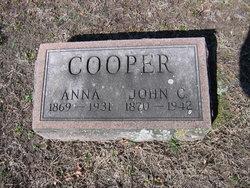 Anna <I>Thieme</I> Cooper