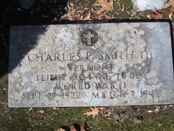 1LT Charles Plympton Smith, III