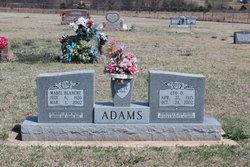 Mabel Blanche <I>Saak</I> Adams