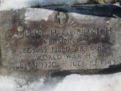 Albert H Goodrich