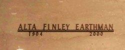 Alta Finley <I>Finley</I> Earthman