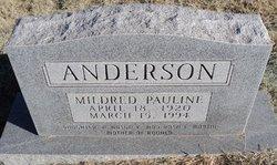 Mildred Pauline Anderson