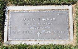 Frank J Dekar