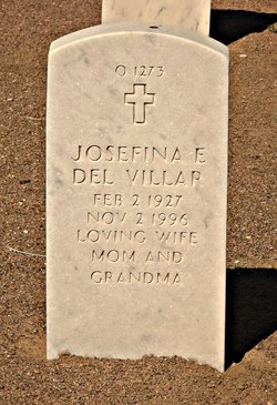 Josefina <I>Espinoza</I> del Villar