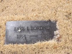Faye Irene Bordner