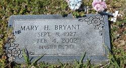 Mary <I>Hill</I> Bryant