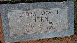 Leora Louella <I>Vowell</I> Hern