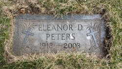 Eleanor D <I>Mikolasek</I> Peters