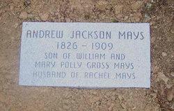 Andrew Jackson Mays, Sr