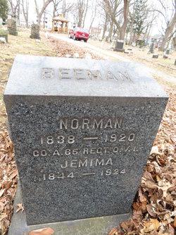 Jemima <I>Weigel</I> Beeman
