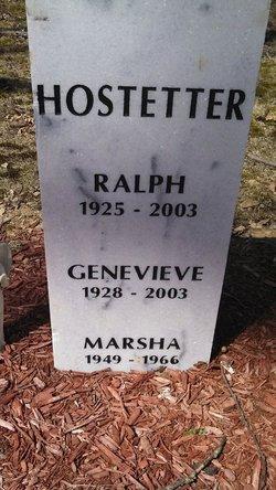 Ralph Hostetter 1925 2003