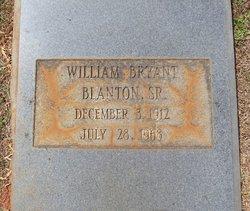 William Bryant Blanton, Sr