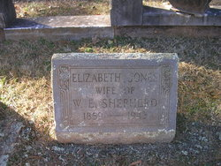 "Elizabeth ""Bessie"" <I>Jones</I> Shepherd"