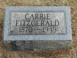 "Catherine A. ""Carrie"" <I>Warner</I> Fitzgerald"