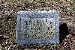 Henrietta E. <I>Botz</I> Lindsley