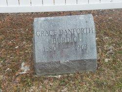 Grace <I>Danforth</I> Burdic
