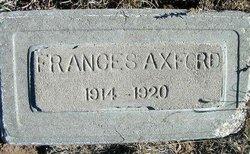Frances Axford
