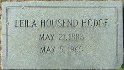 Leila Caroline <I>Housend</I> Hodge