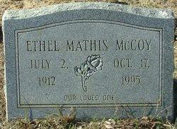 Ethel <I>Mathis</I> McCoy