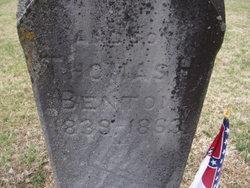 Pvt Thomas H Benton