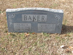 Hazel Bell <I>Chinn</I> Baker