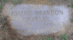 """Joseph Brandon """"Joe"""" Crawley"""