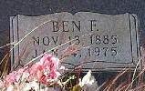 """Benjamin Franklin """"Ben"""" Bonds"""