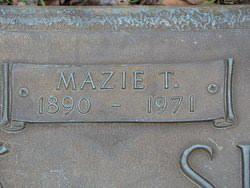 Mazie <I>Threatt</I> Sistare