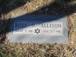 Rose D Allison