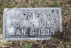 Mara Etta <I>Kelly</I> Cooper