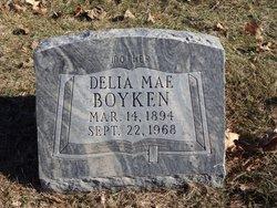 Delia Mae <I>Johnson</I> Boyken
