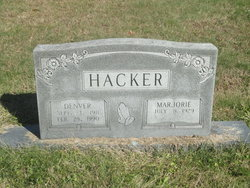 Marjorie Hacker