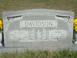 Alma <I>Belt</I> Davidson