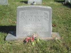 Etta <I>Wood</I> Allen