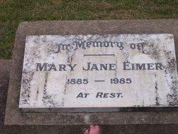 Mary Jane <I>Boden</I> Eimer