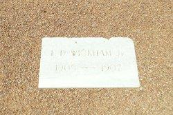 Frank Dickinson Wickham, Jr