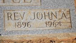 Rev John A Settle