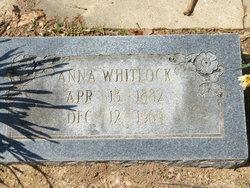 Anna <I>Rice</I> Whitlock