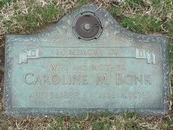 "Caroline M. ""Carrie"" <I>Luebker</I> Bonk"