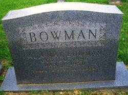 Ada Mae <I>White</I> Bowman