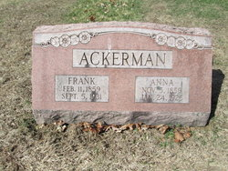 Anna Elizabeth <I>Flory</I> Ackerman