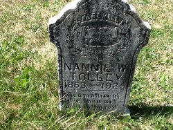 Nannie W <I>Myers</I> Tolley